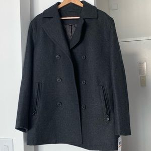 Michael Kors Men's Wool Peacoat BRAND NEW w/ Tags